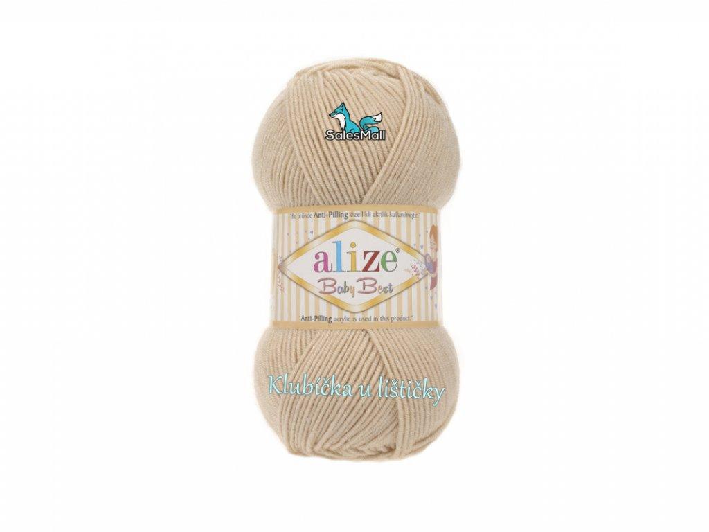 Alize Baby Best 310- medová