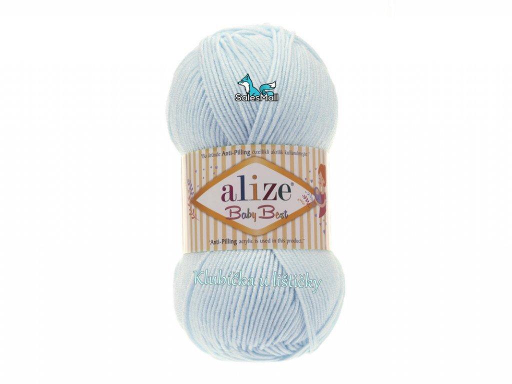 Alize Baby Best 189- světle tyrkysová