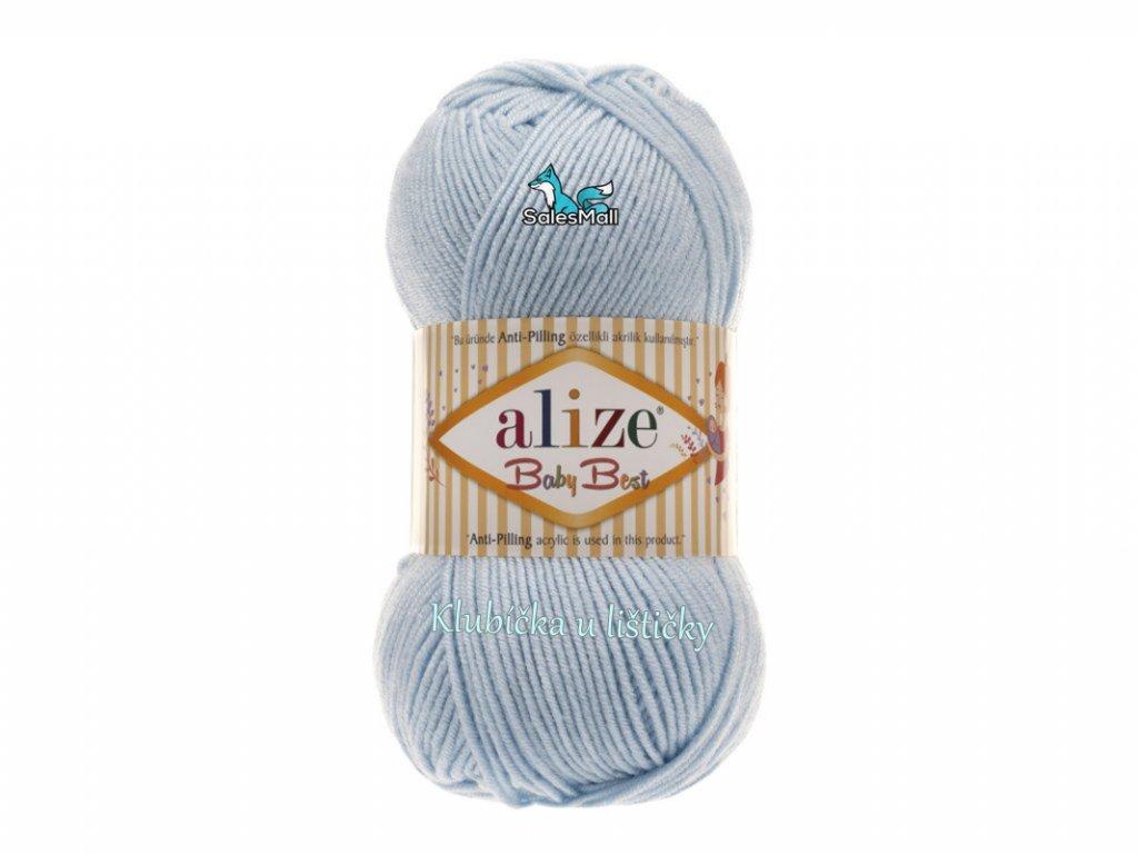 Alize Baby Best 183 - světle modrá