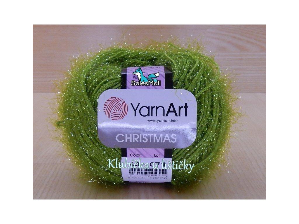 YarnArt Christmas 43 - zelená