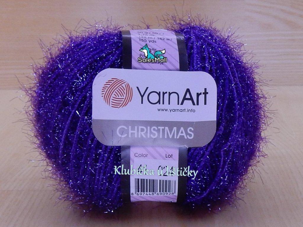 YarnArt Christmas 41 - fialová