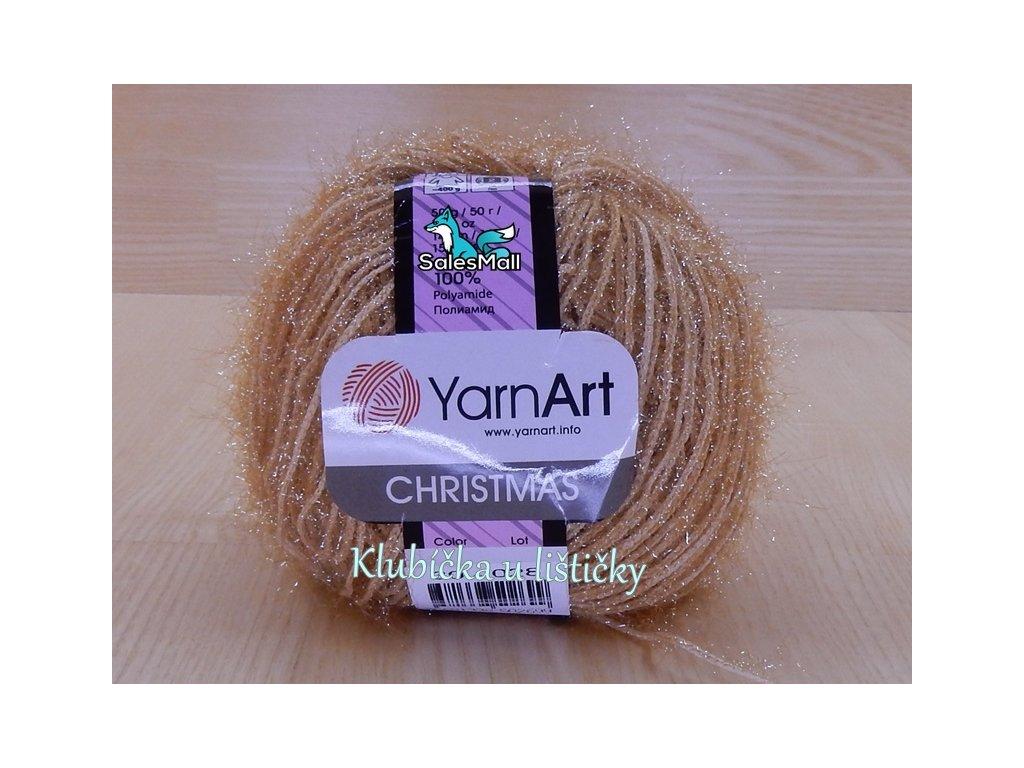 YarnArt Christmas 30 - karamelová