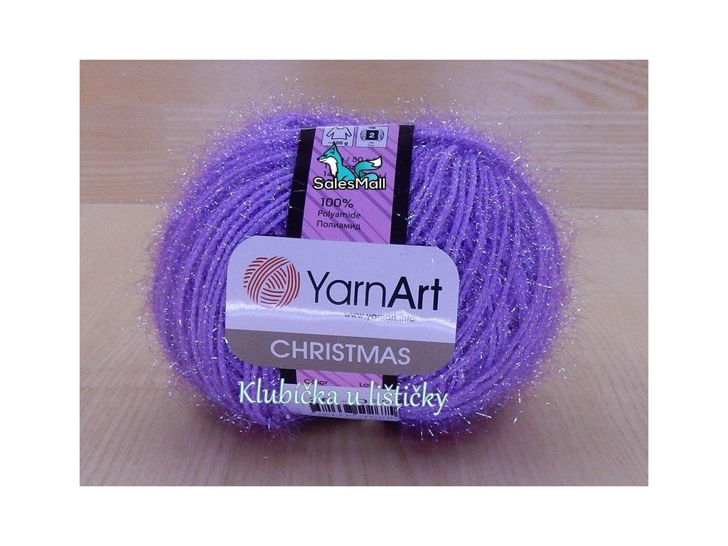 YarnArt Christmas 26 - světle fialová