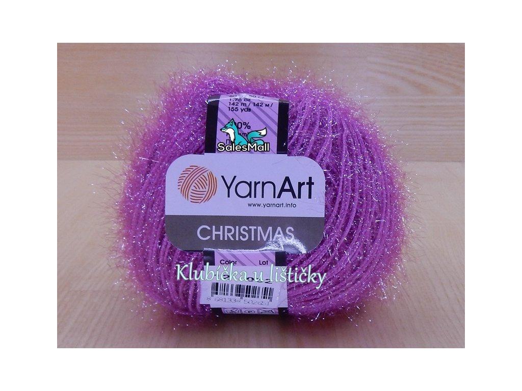 YarnArt Christmas 12 - cyklámen