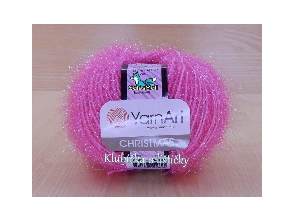 YarnArt Christmas 8 - růžová