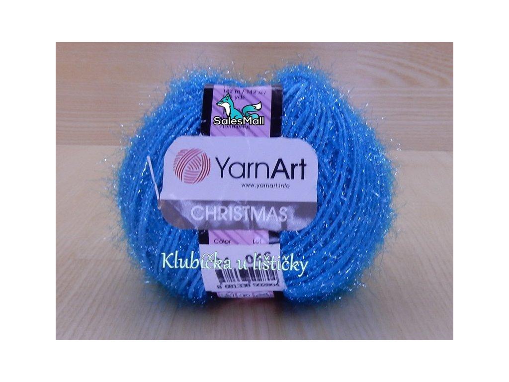 YarnArt Christmas 4 - tyrkysová