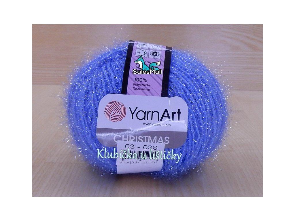 YarnArt Christmas 3 - světle modrá