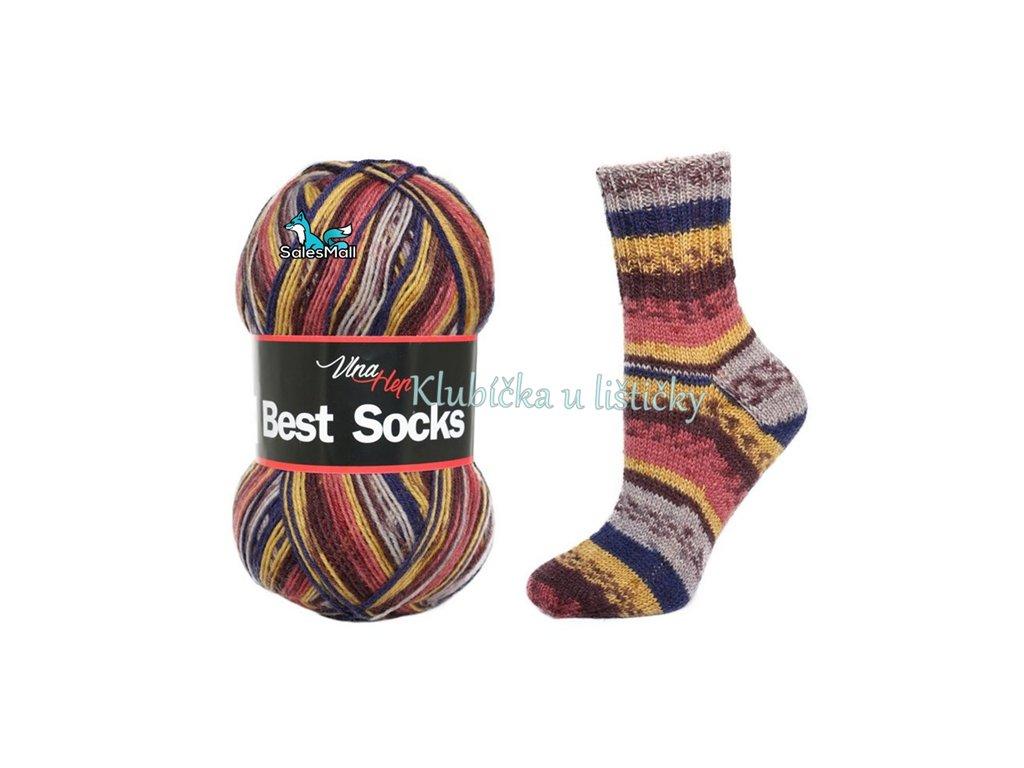 Vlna Hep Best Socks 7013