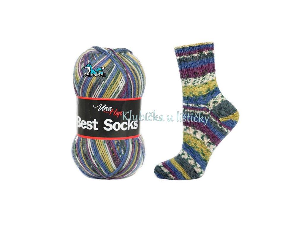 Vlna Hep Best Socks 7006
