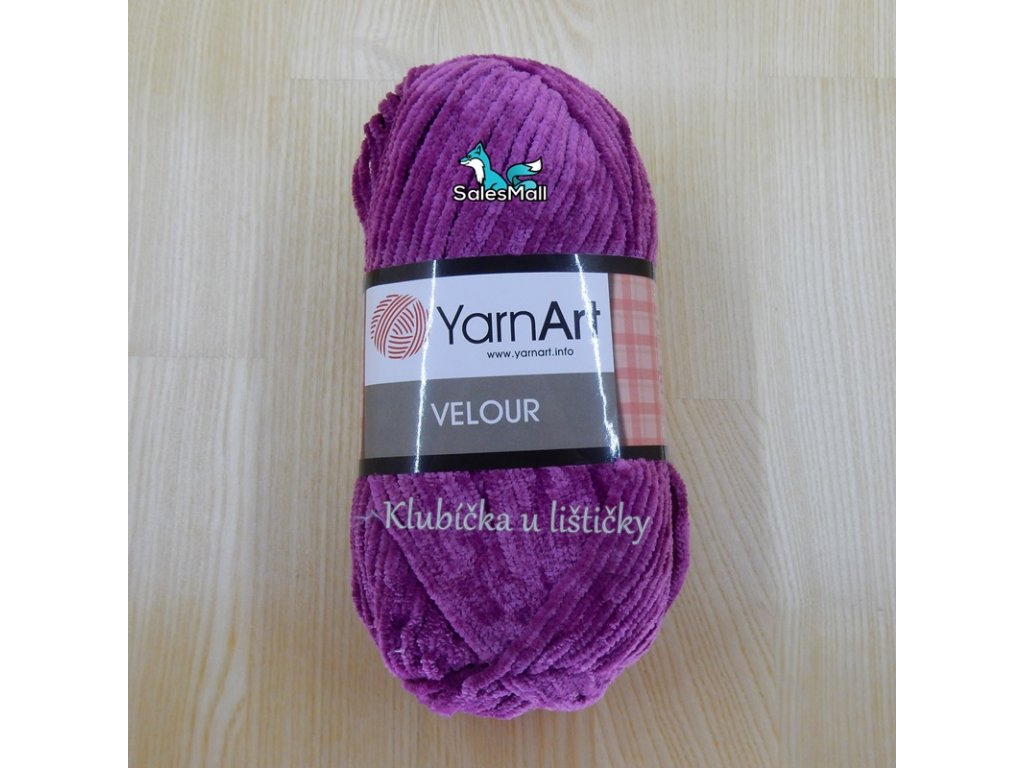 YarnArt Velour 855 - bordó