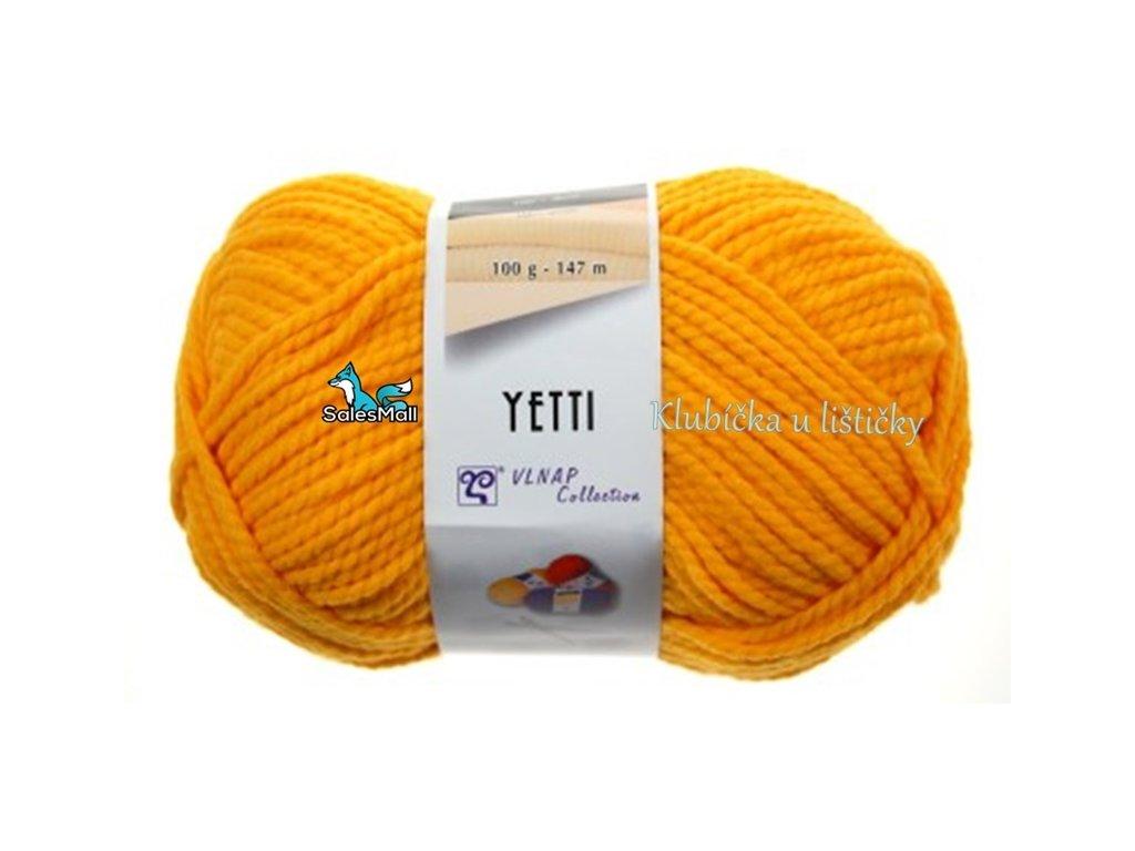 Vlnap Yetti 54460 - šafránově žlutá