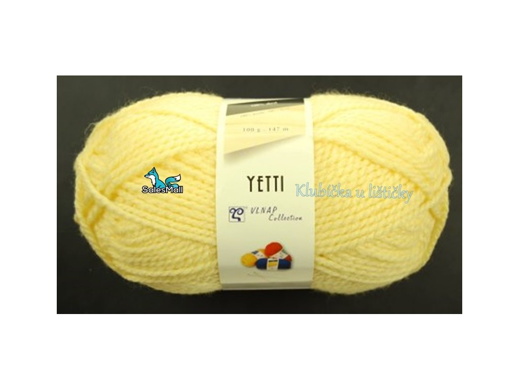 Vlnap Yetti 54033- žlutá