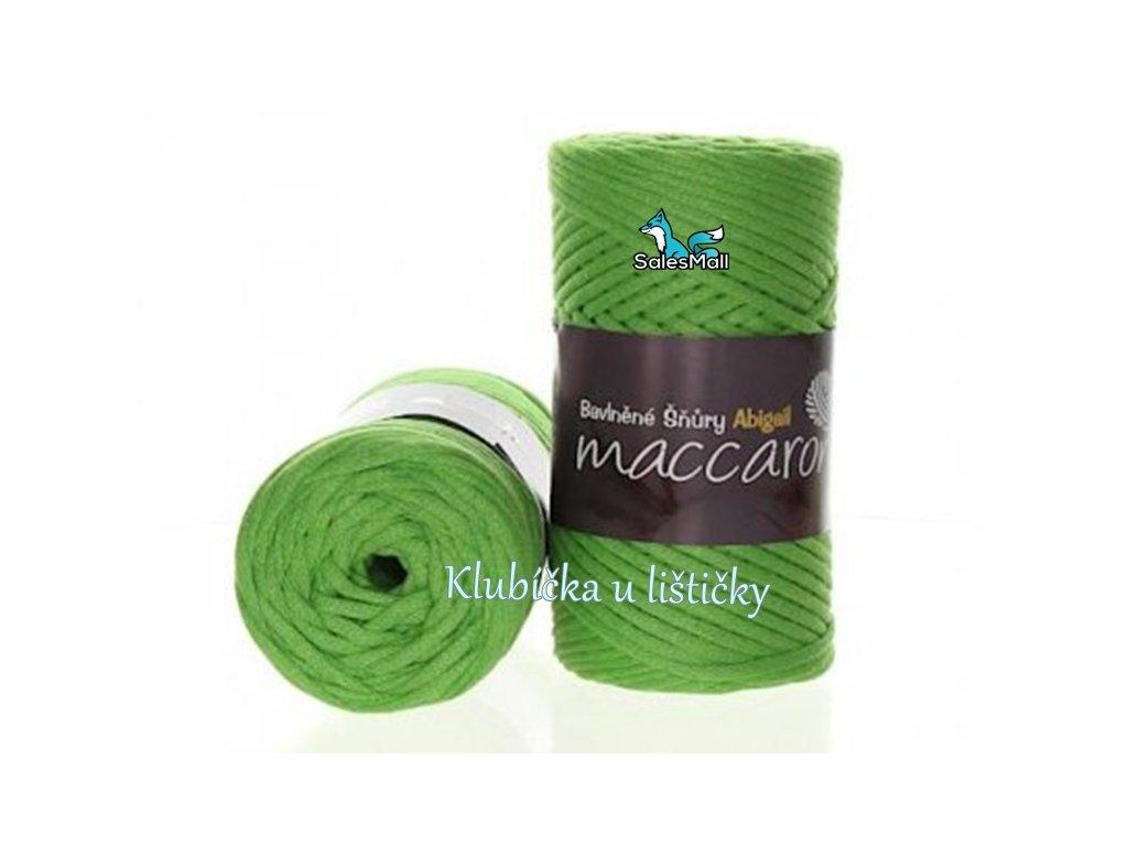 Abigail bavlněné šňůry 3 mm - 22 zelená