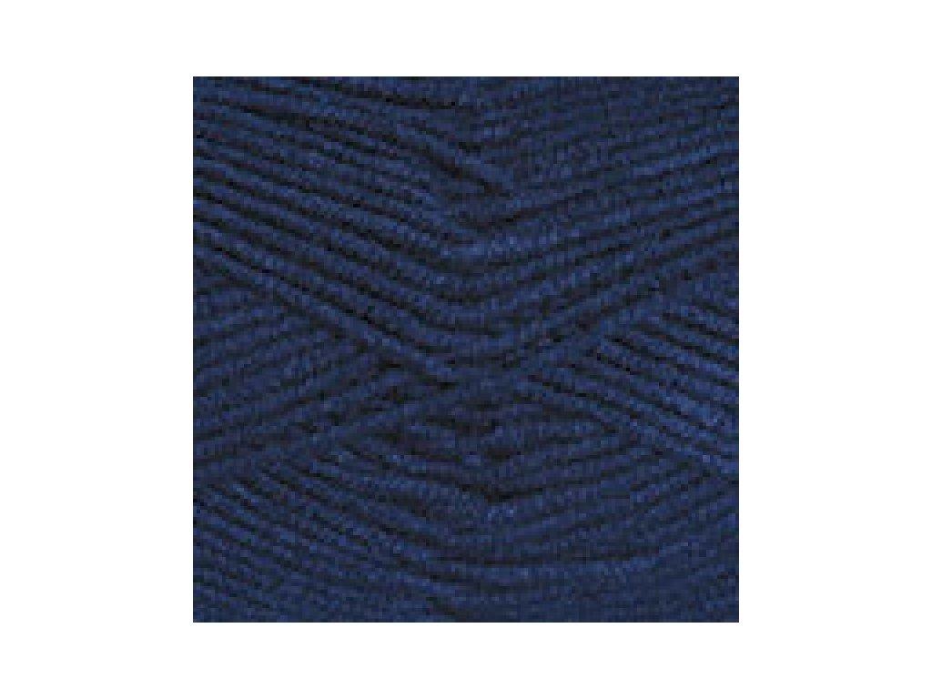 YarnArt Norway 227- tmavě modrá