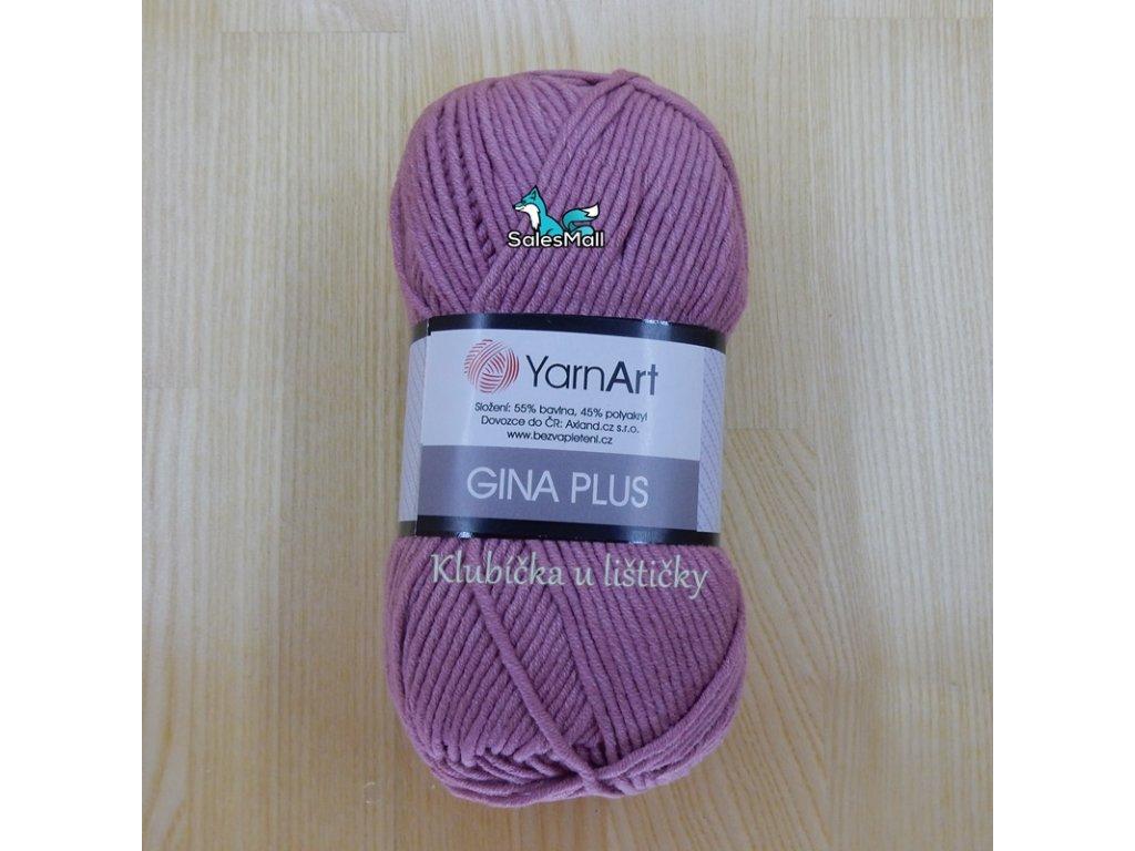 YarnArt Příze Gina Plus 65 - starorůžová