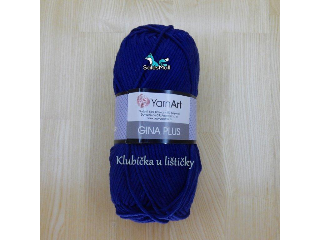 YarnArt Příze Gina Plus 54 - tmavě modrá