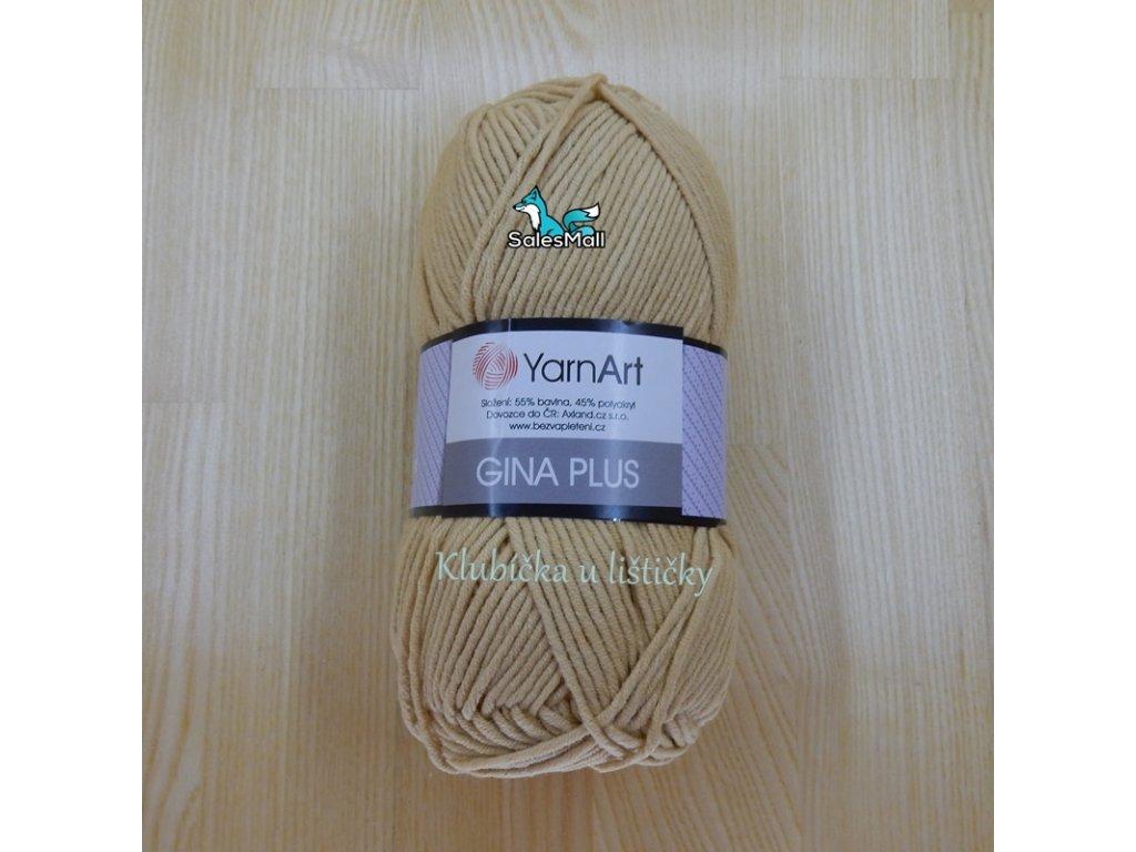 YarnArt Příze Gina Plus 07 - písková