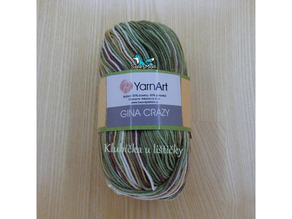YarnArt Příze Gina Crazy 7203