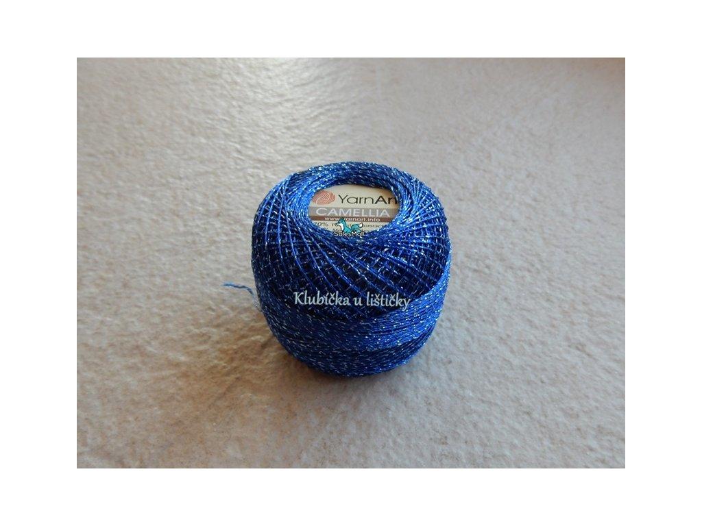 YarnArt Camellia 428 - modrá