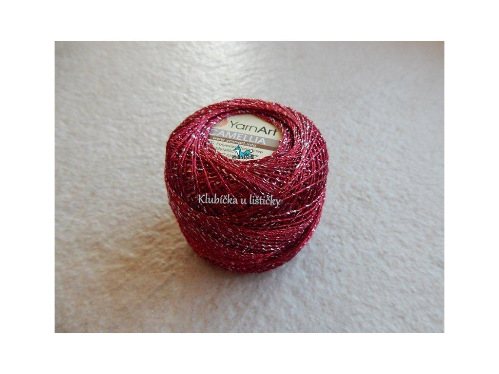 YarnArt Camellia 426 - vínová