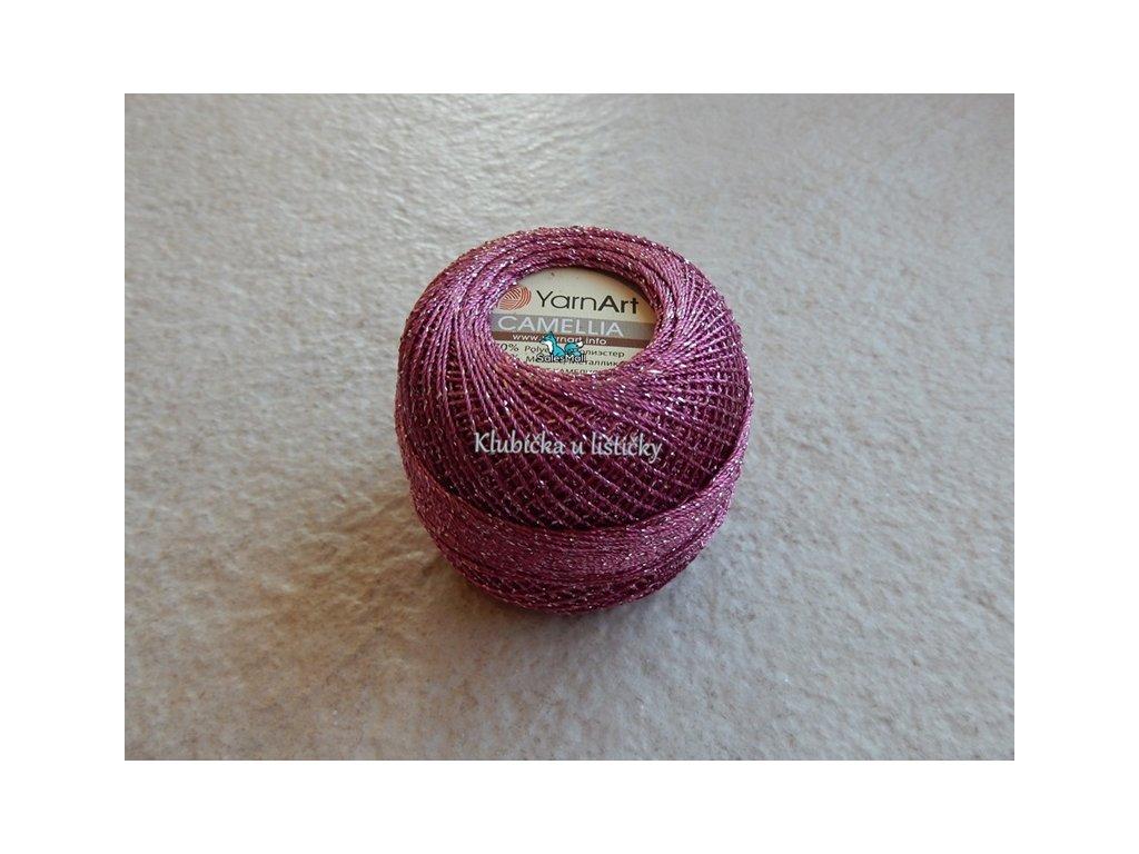 YarnArt Camellia 425 - růžovo fialová