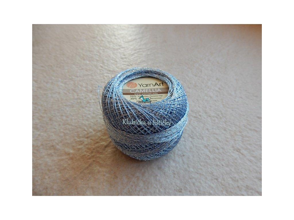 YarnArt Camellia 417 -světle modrá