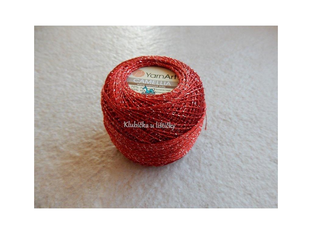 YarnArt Camellia 416 - červená
