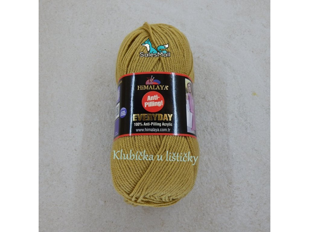 Himalaya Everyday 70061- zlatě-písková