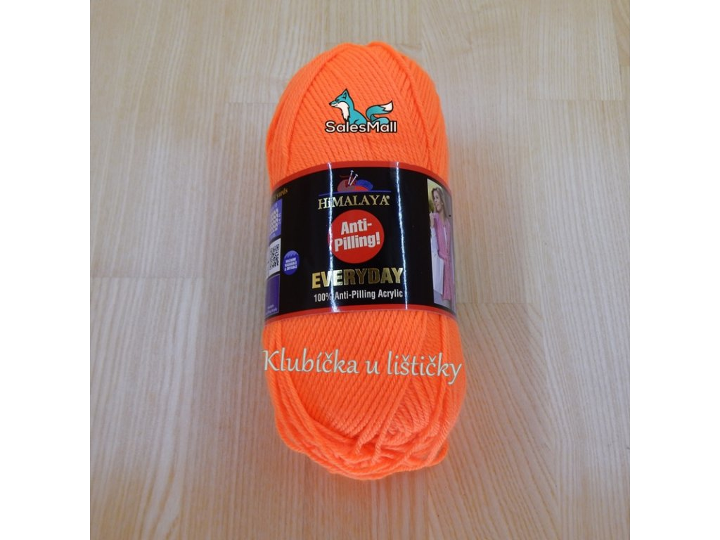 Himalaya Everyday 70051-neonově oranžová