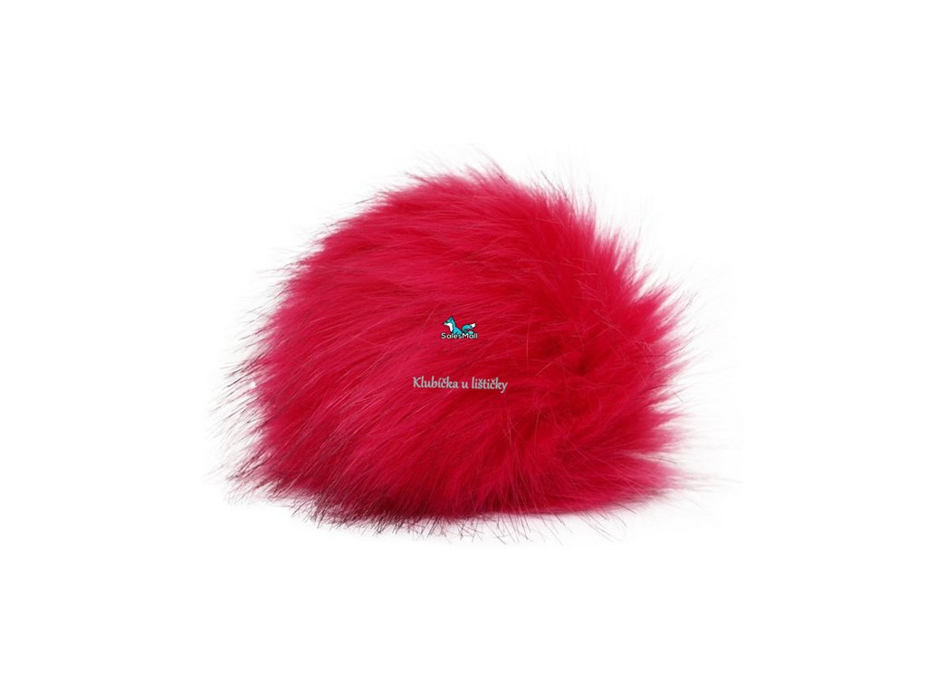 Vlna-Hep Bambule 36-růžovočervená