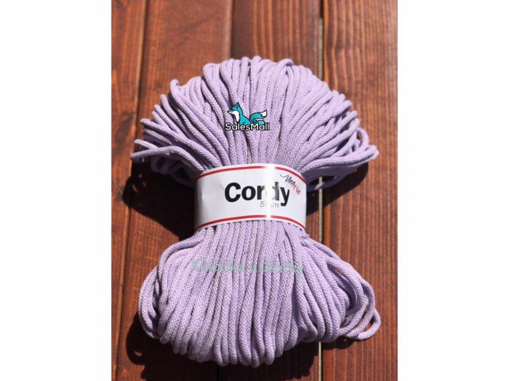 Vlna-Hep Cordy 5mm-levandulová