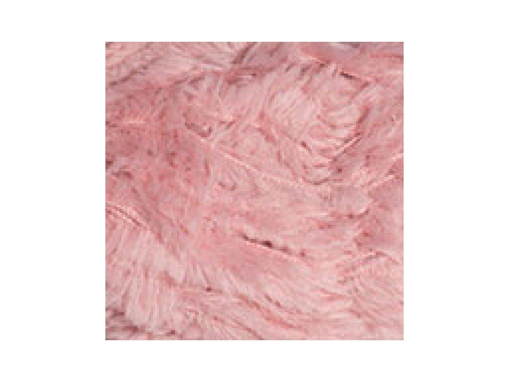 YarnArt Mink 341 - růžová