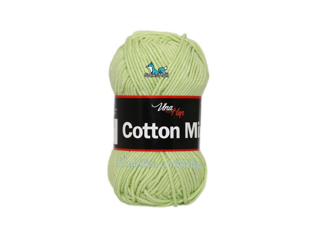 Vlna-Hep Cotton Mix 8158 - světle zelená