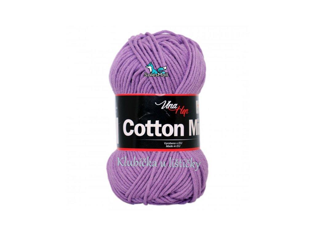 Vlna-Hep Cotton Mix 8055 - fialová