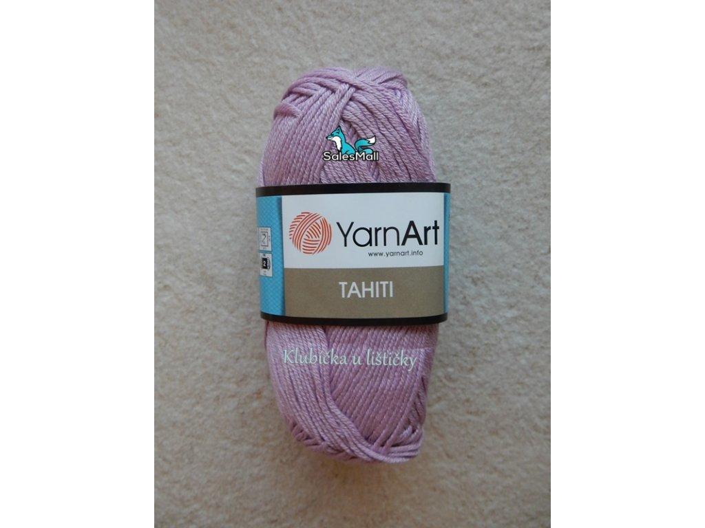 YarnArt Tahiti 222-světle fialová
