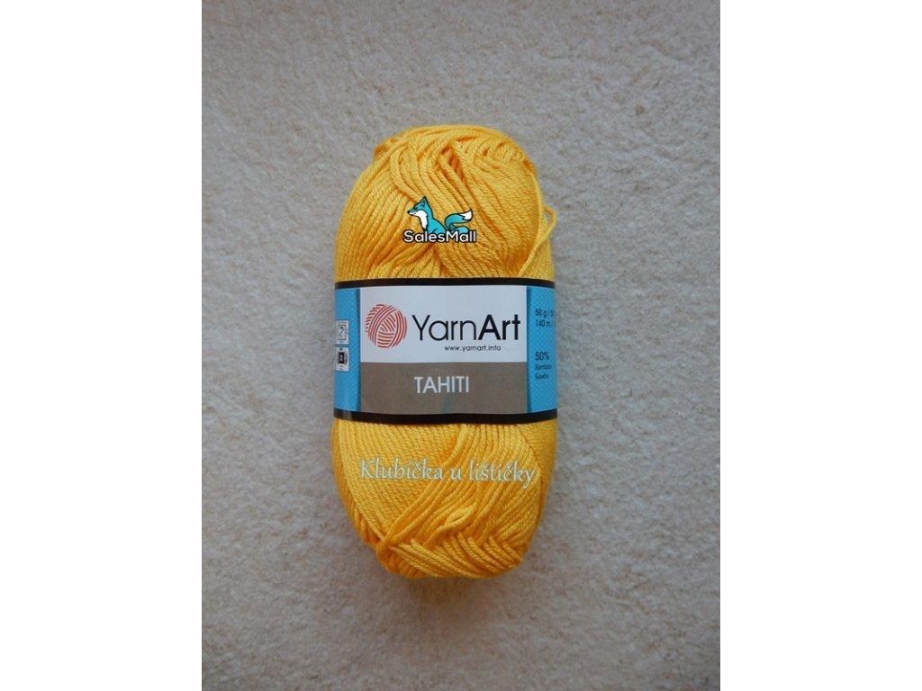 YarnArt Tahiti 220-žlutá