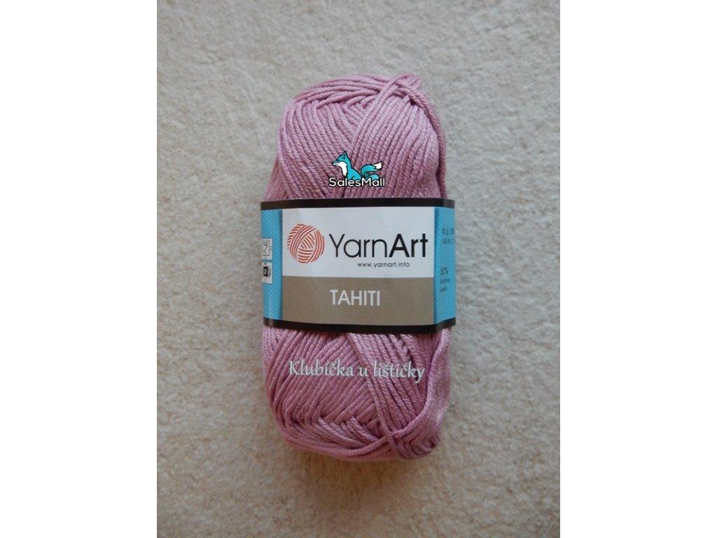 YarnArt Tahiti 217-starorůžová