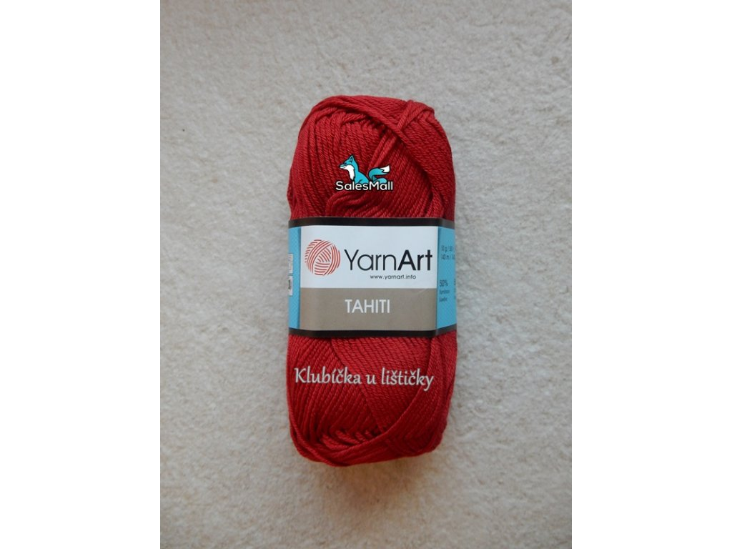 YarnArt Tahiti 216-vínová