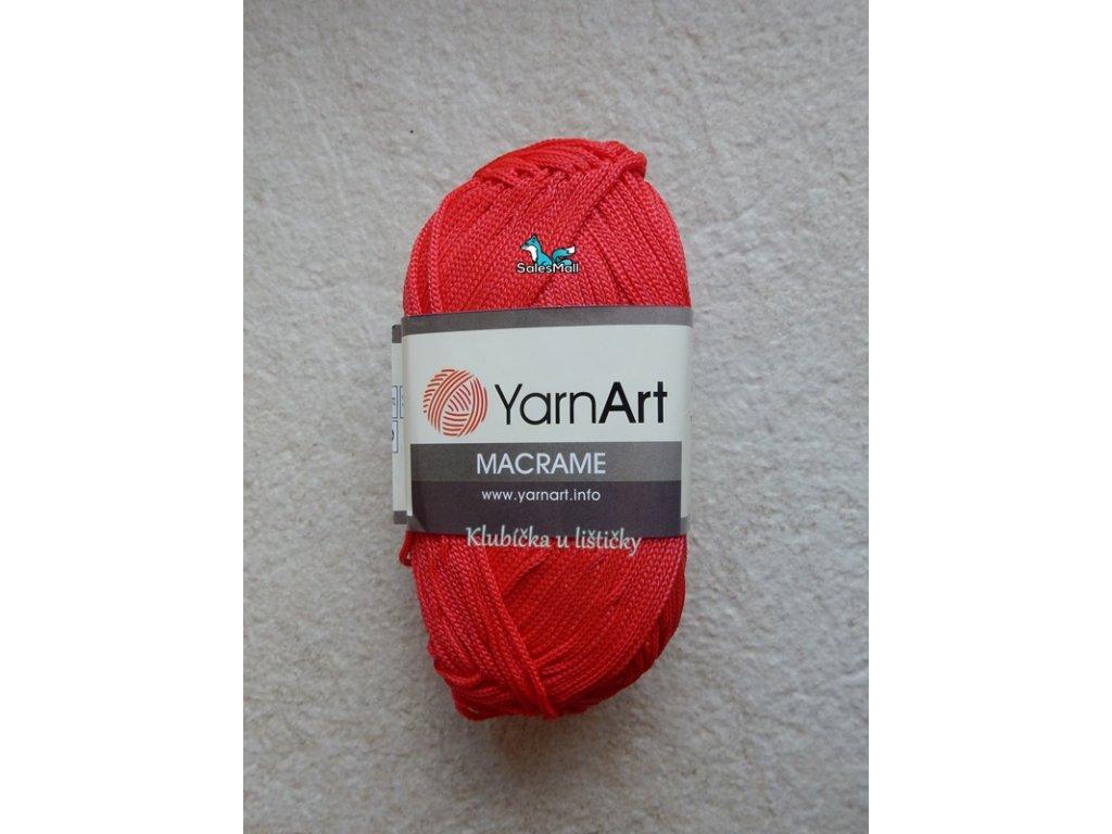YarnArt Macrame 163-červená