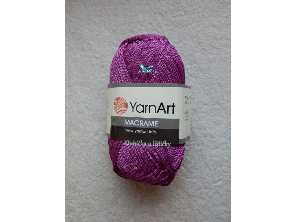 YarnArt Macrame 161-fialová