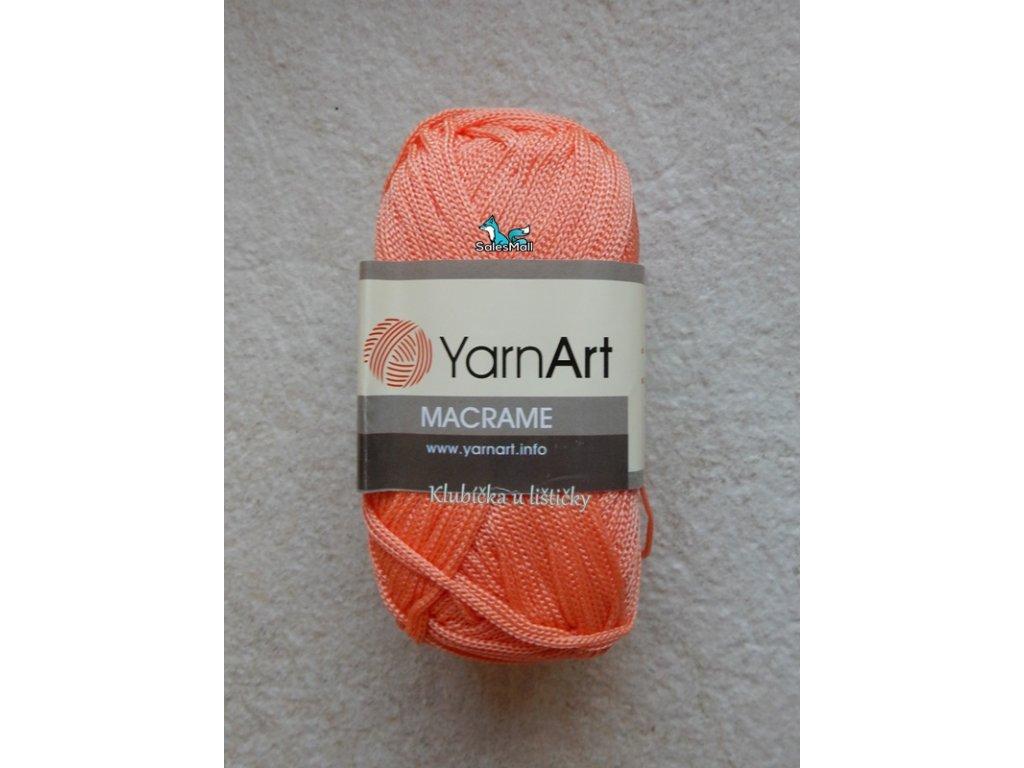 YarnArt Macrame 160-lososová