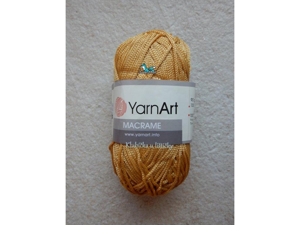 YarnArt Macrame 155-zlatobéžová