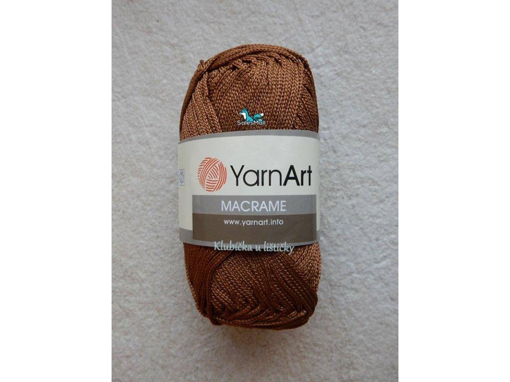 YarnArt Macrame 151-hnědá