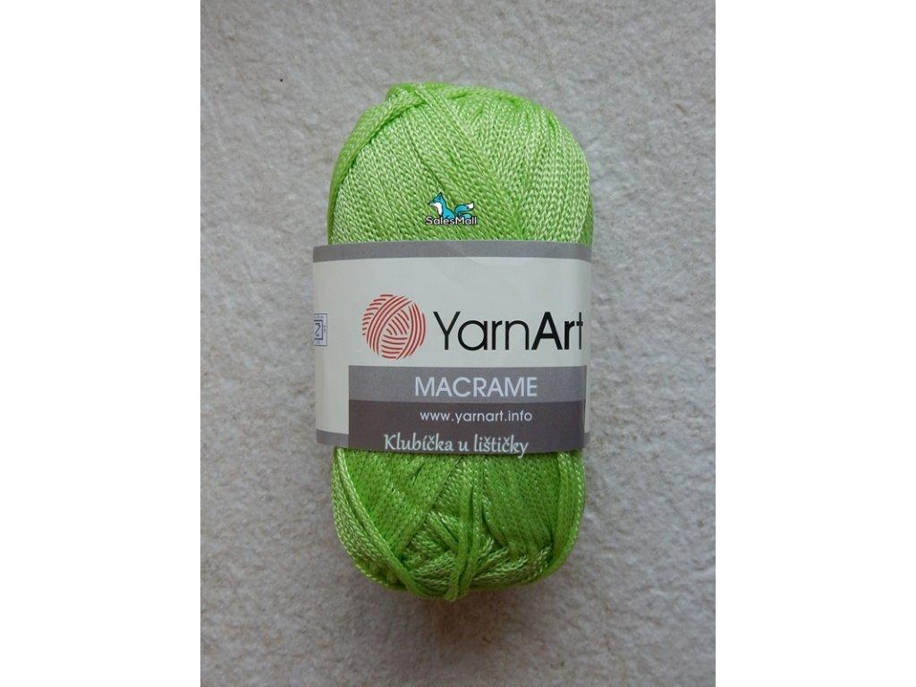 YarnArt Macrame 150-světle zelená