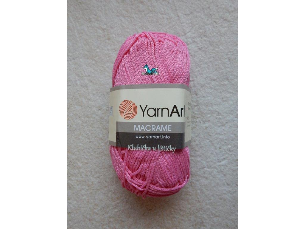 YarnArt Macrame 147-růžová