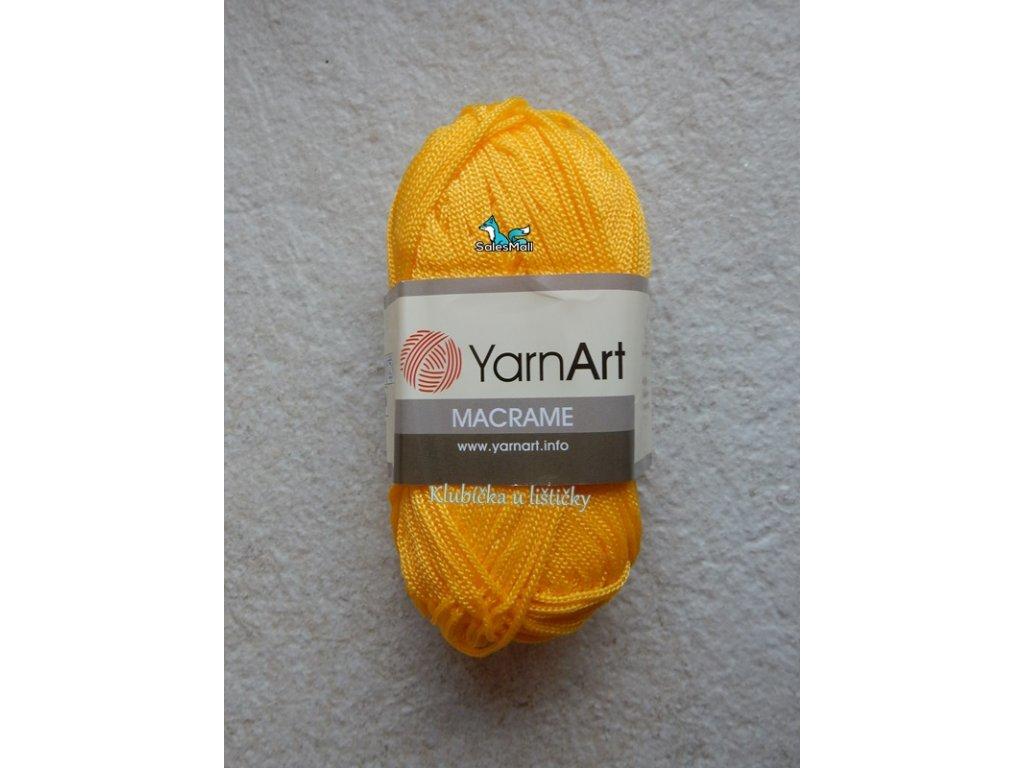 YarnArt Macrame 142-žlutá