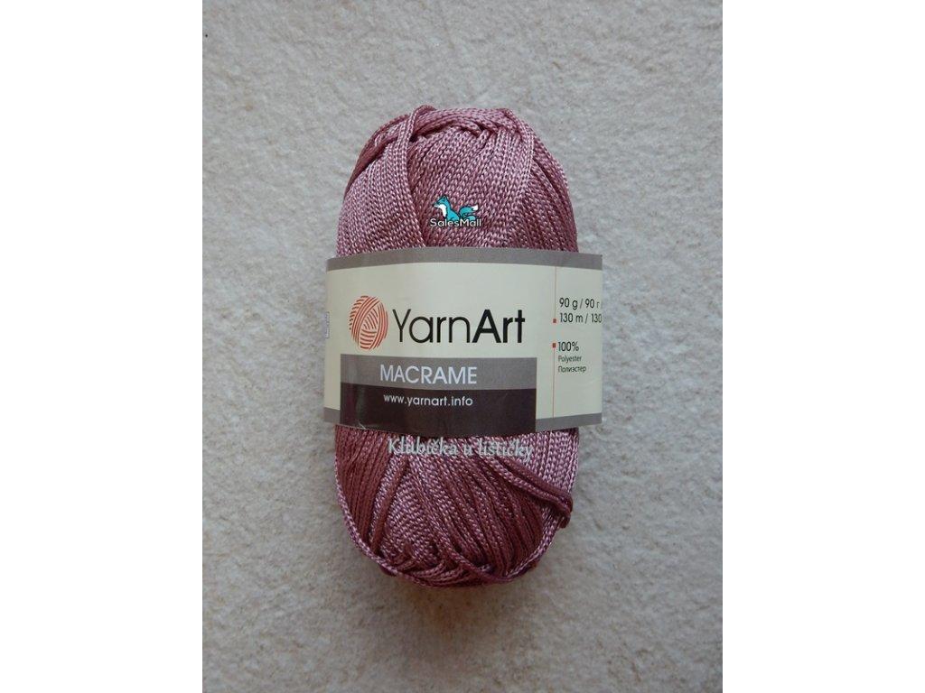 YarnArt Macrame 141-starorůžová