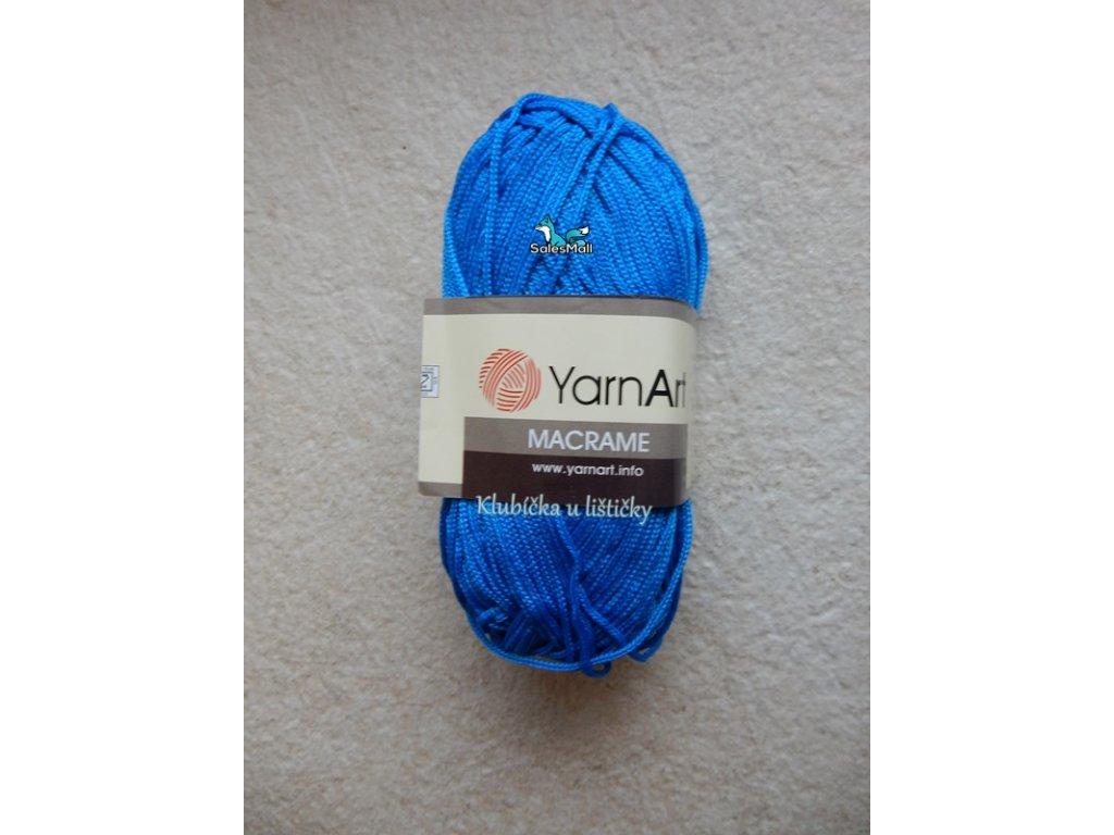 YarnArt Macrame 139-tmavě modrá
