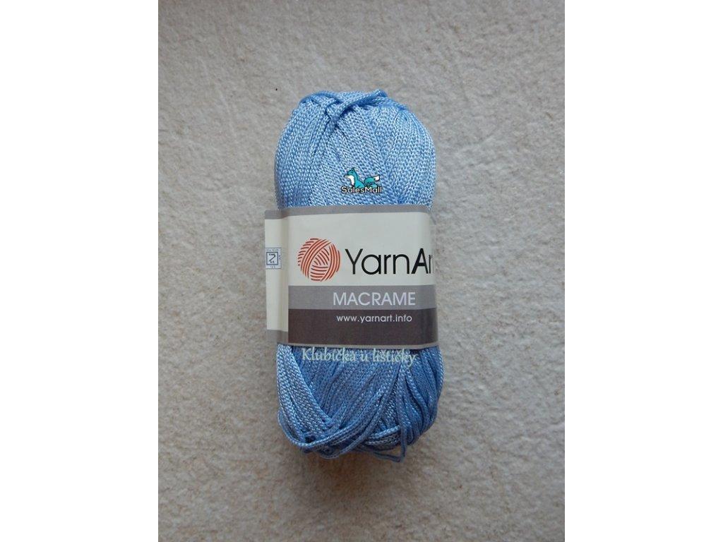 YarnArt Macrame 133-světle modrá