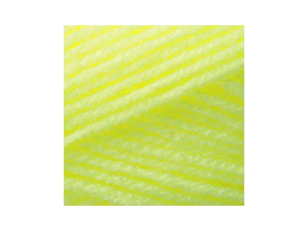 YarnArt Baby 8232 - neonově žlutá